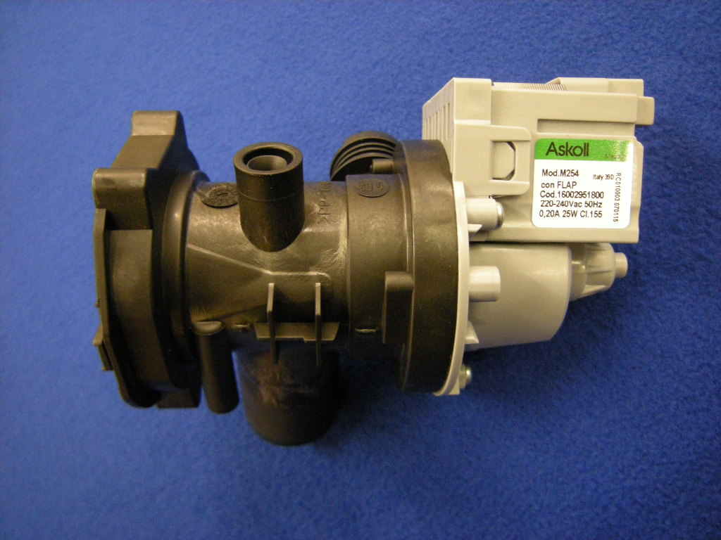 GENUINE HOTPOINT/INDESIT DRAIN PUMP
