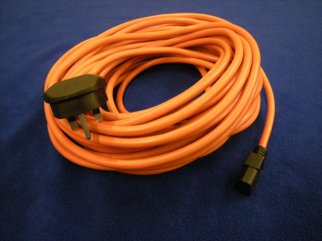 COMPATIBLE ORANGE CABLE & 13A PLUG ASSEMBLY
